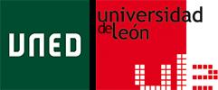 Logo de la UNED y la Universidad de León
