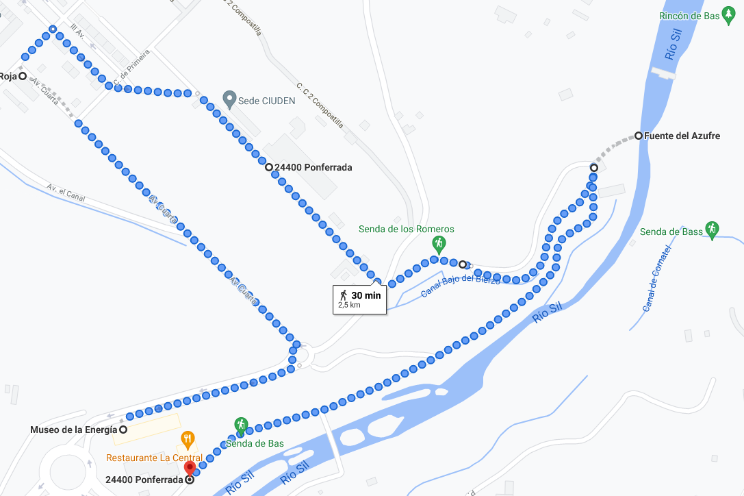 Ruta 2 - Un paseo comentado por Compostilla